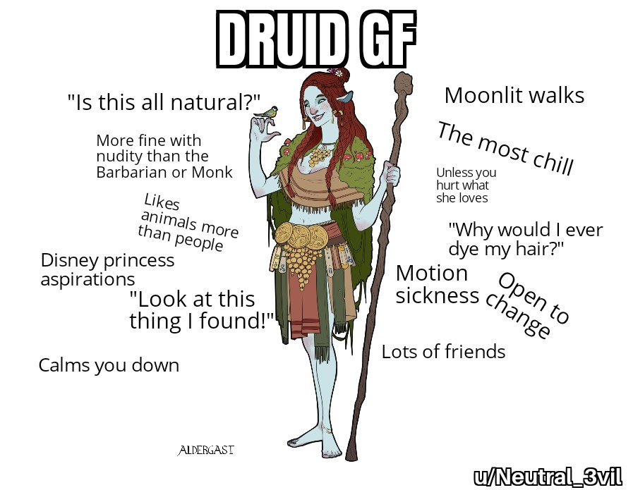 Dungeons & Dragons Girlfriends