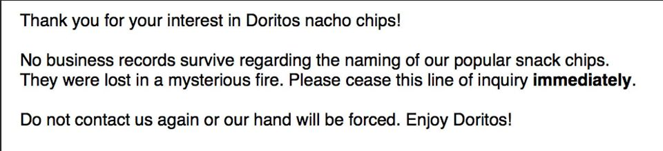 The True Meaning of Doritos