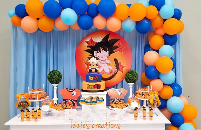 Dragon Ball Z Baby Shower