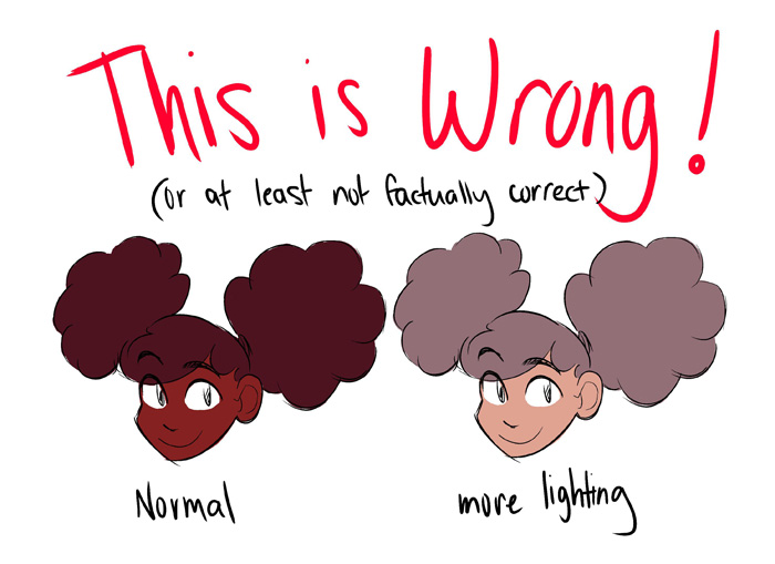 Tips for Drawing Darker Skinned Characters