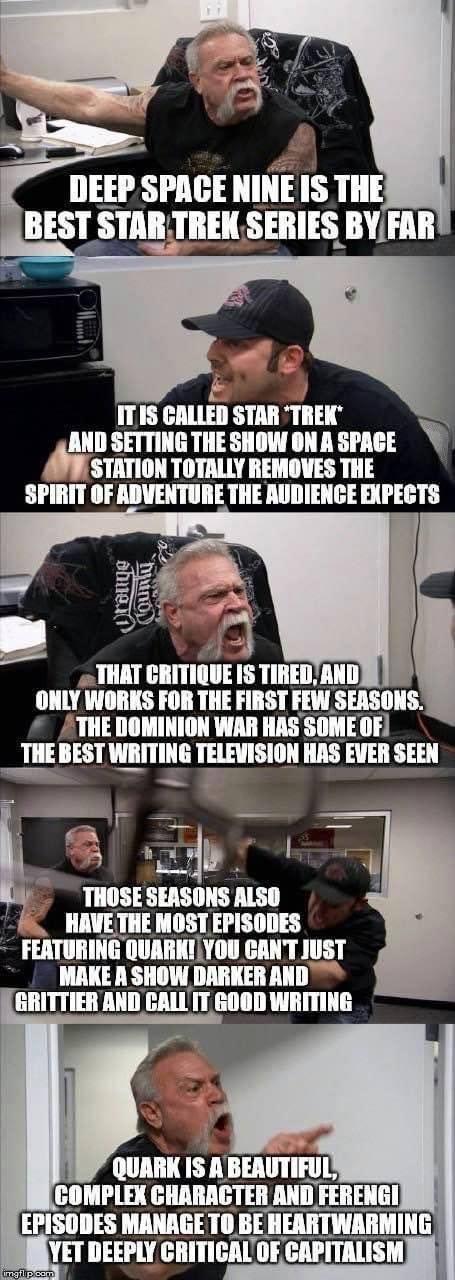 Star Trek: Deep Space Nine Debate Meme