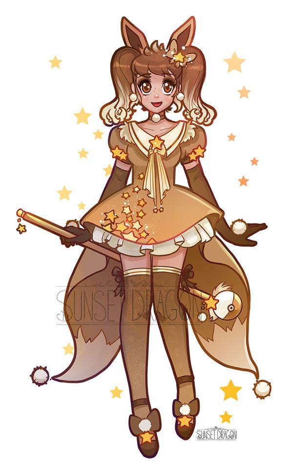 Eeveelution Magical Girls Fan Art