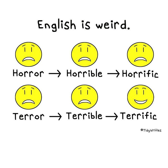 The English Language Makes No Sense