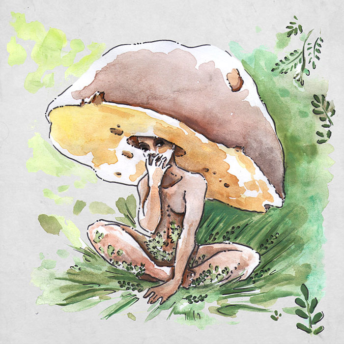 Fae Mushroom Art
