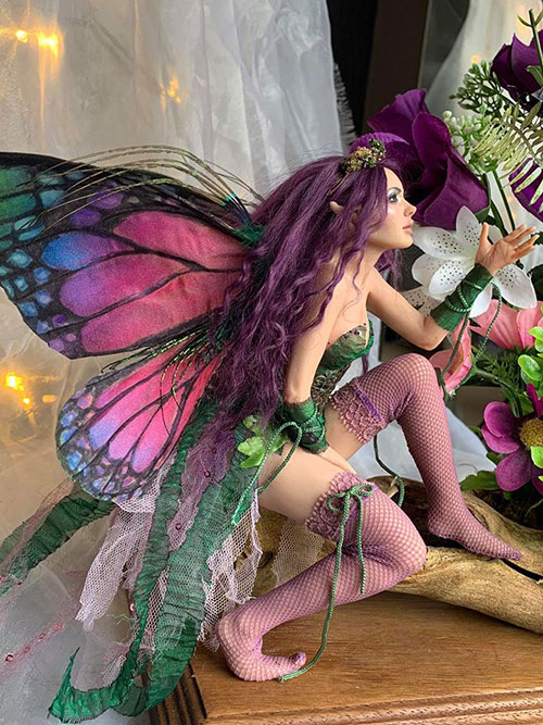 Spring Butterfly Fairy