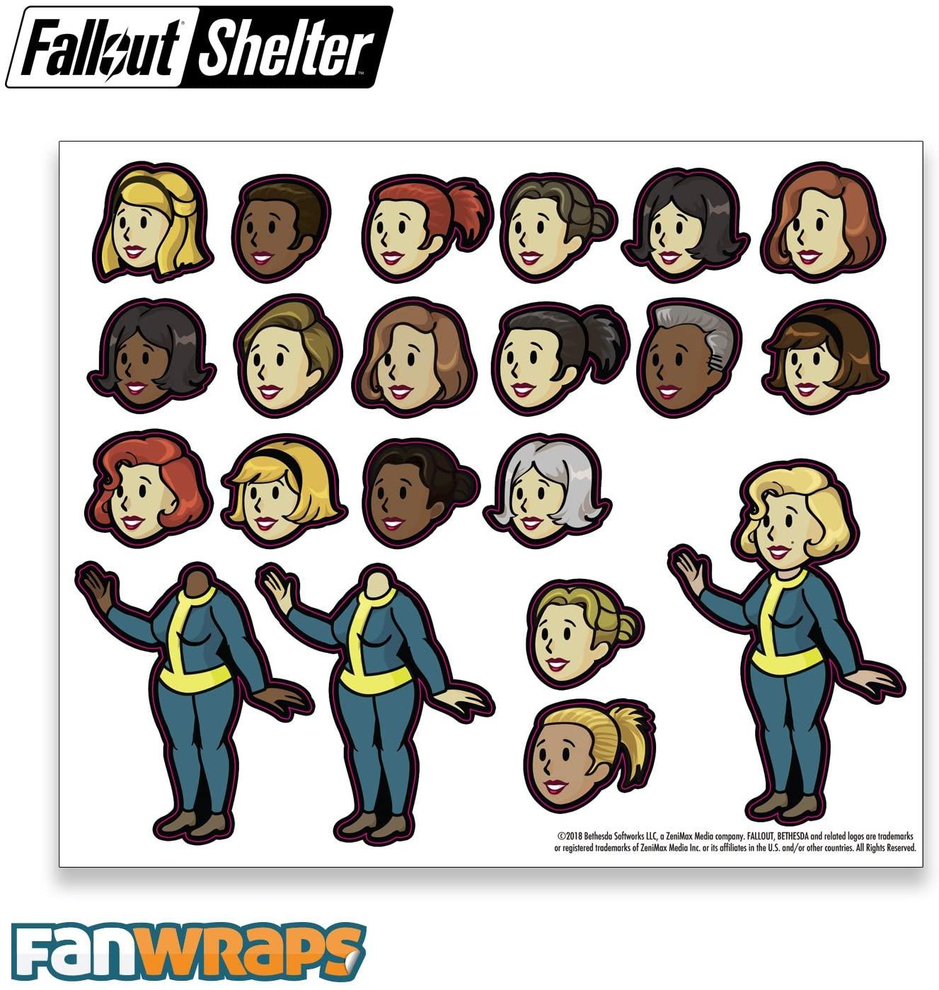 Fallout Vault-Tec Family Decals