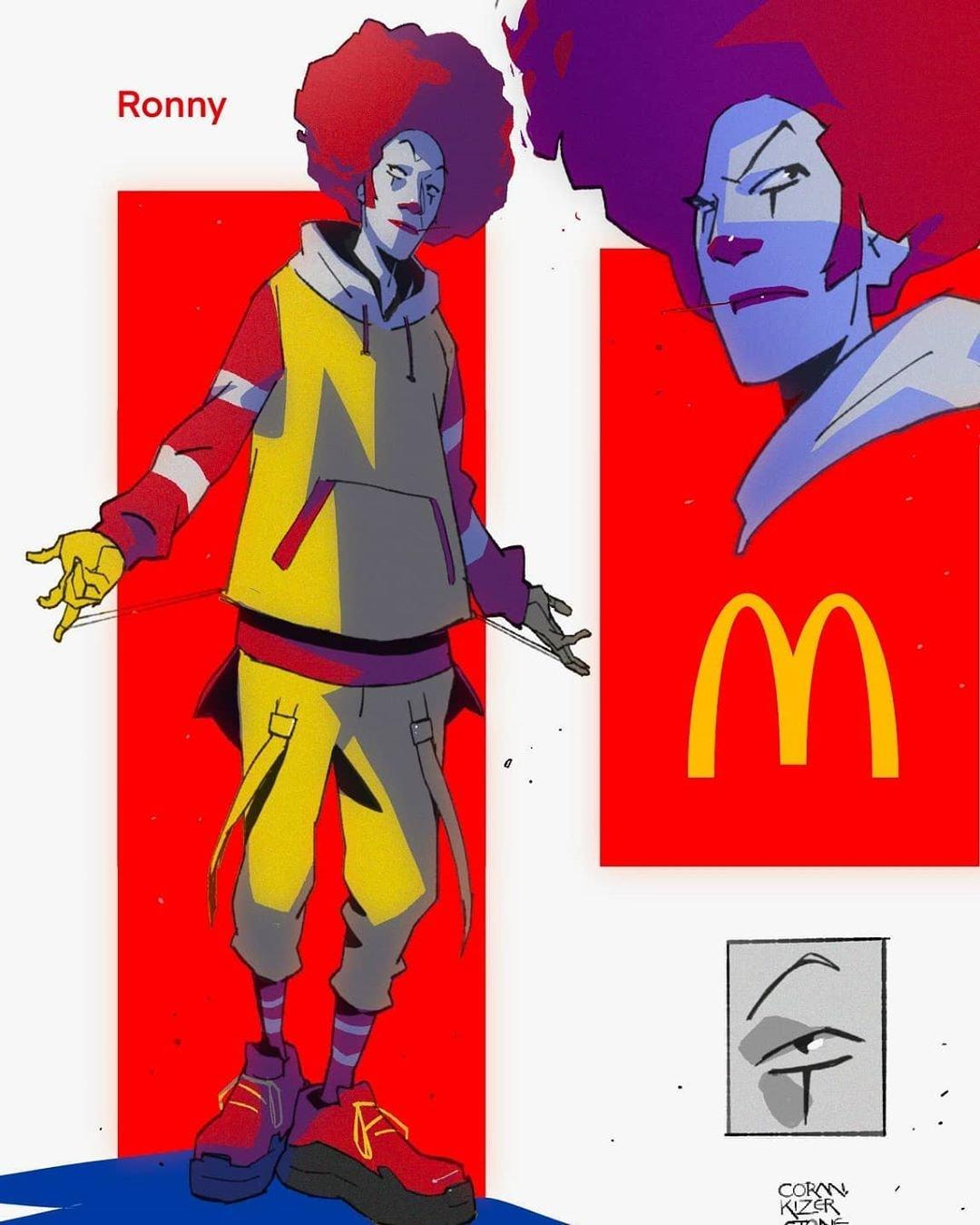 Fast Food Fighters Fan Art