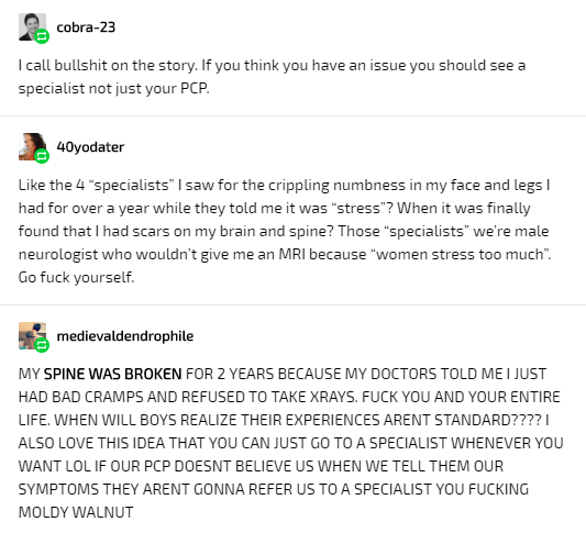 Trying to Get Diagnosed While Female