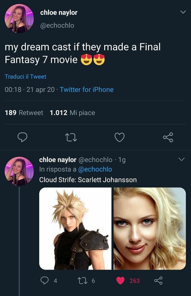 Final Fantasy VII Fan Casting