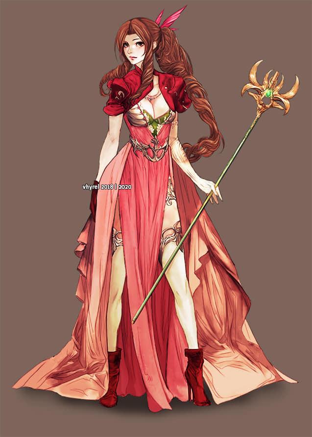 Final Fantasy Girls Fan Art Redesigns
