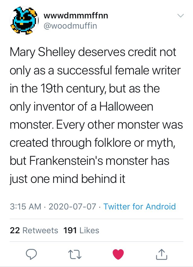 Dude Tries to Claim Credit for Frankensteins Monster