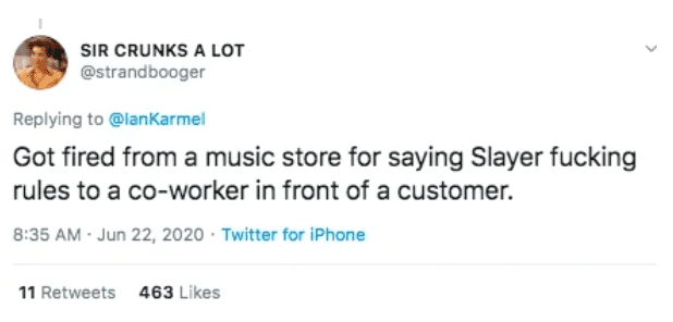 Stupid Reasons People Got Fired