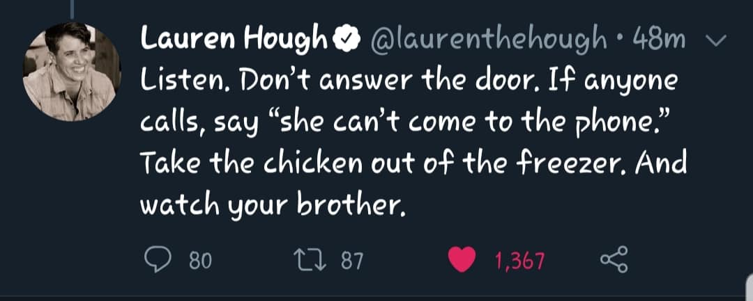 Gen X Tweets About the Stay at Home Quarantine