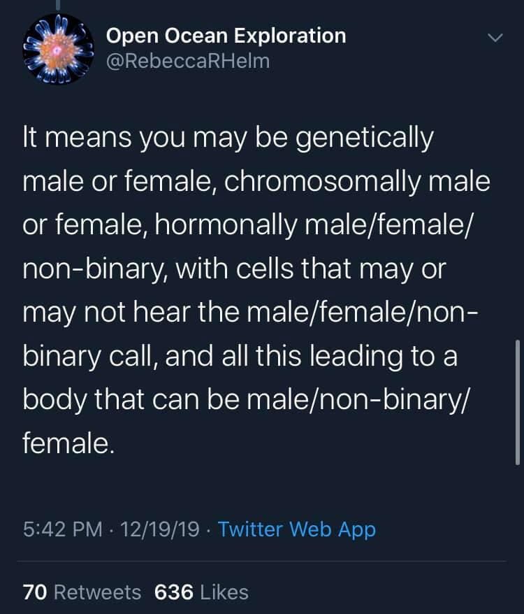 Biologist Explains Sex and Gender