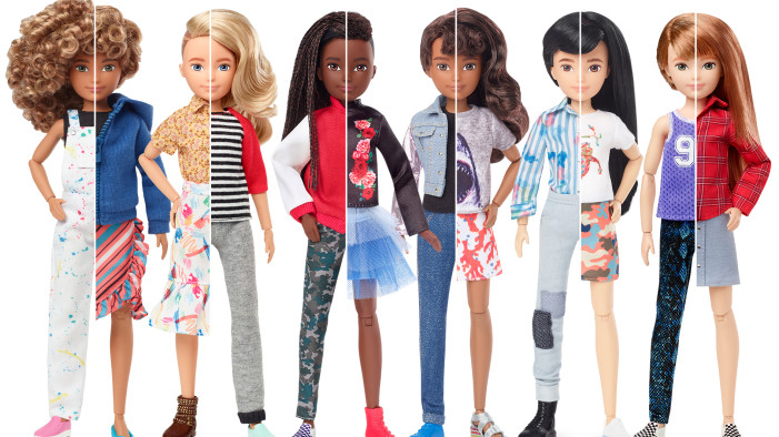 Mattels New Gender Neutral Doll Collection