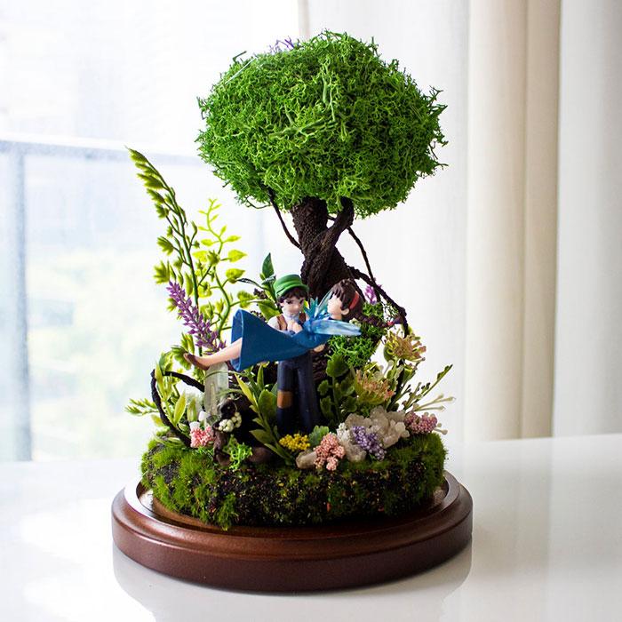 Studio Ghibli Terrariums