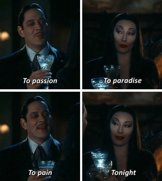 Gomez from The Addams Family Quotes