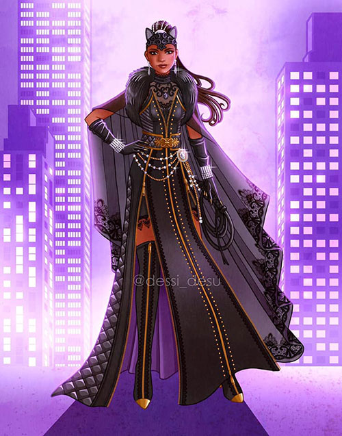 Gotham City Sirens Fan Art Designs