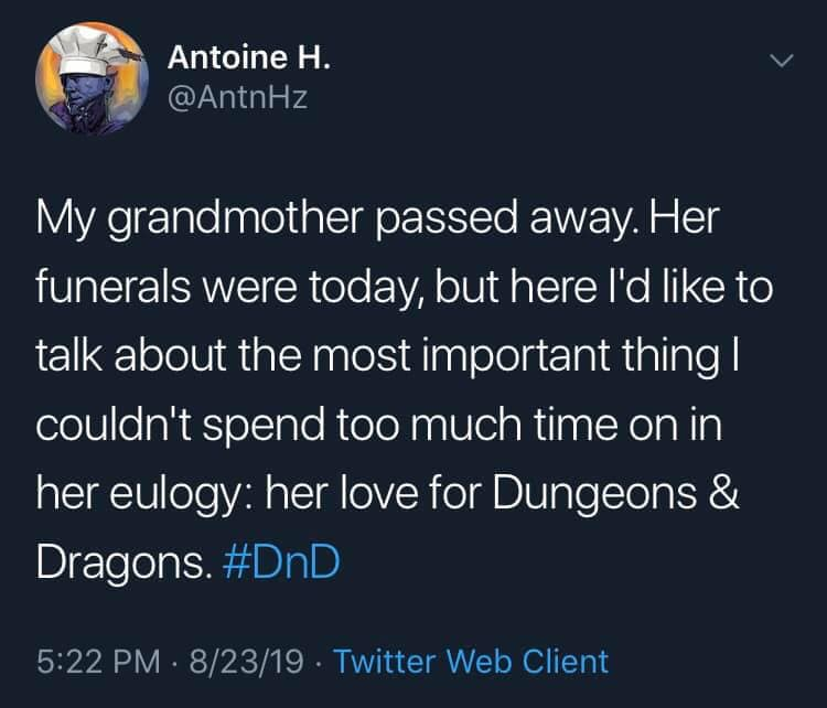 Memories of a Grandma Who Played Dungeons & Dragons