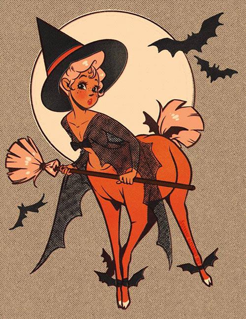 Halloween Centaurettes Art