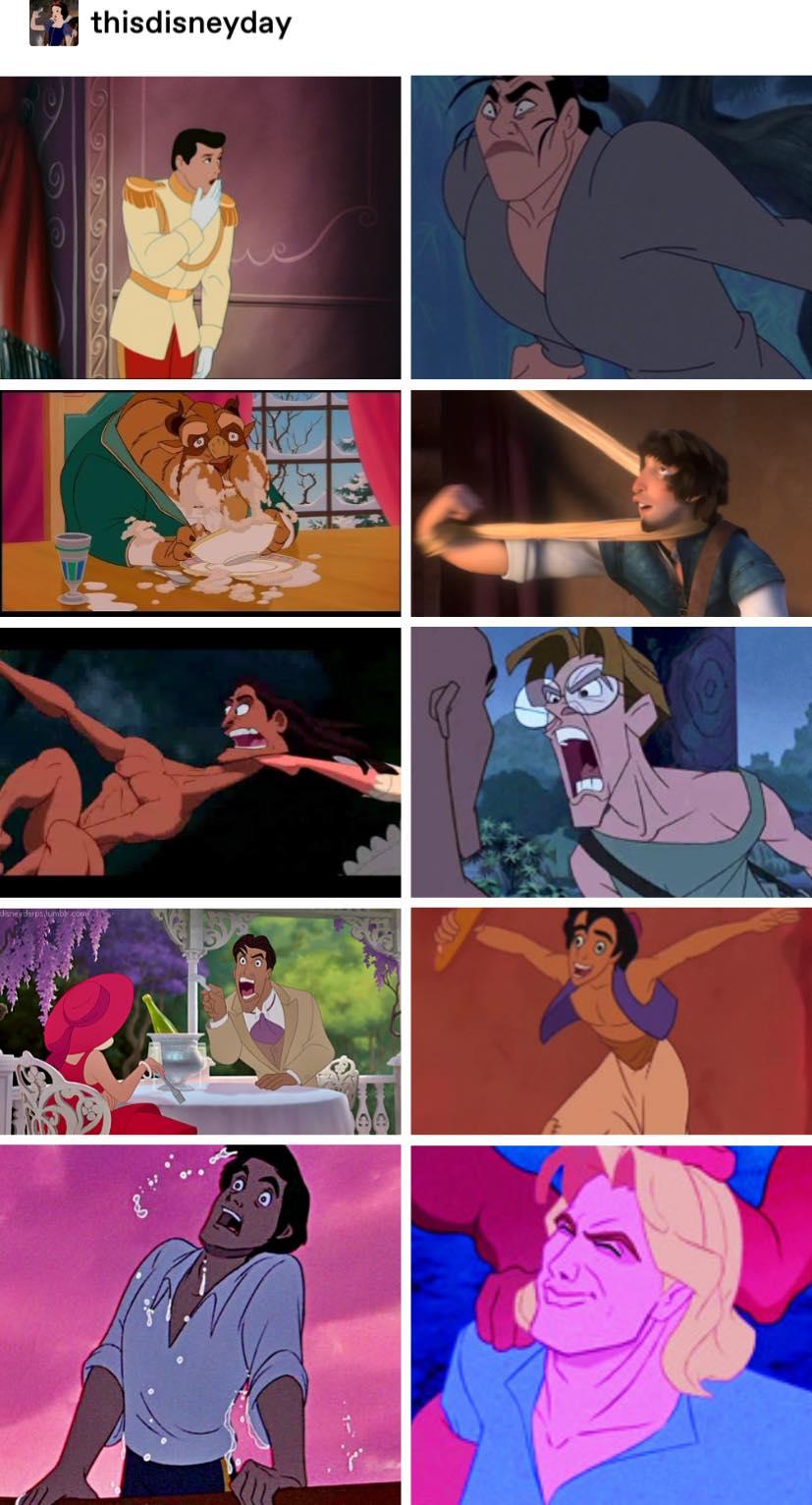 Handsome Disney Princes