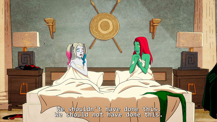 Harley Quinn and Poison Ivy Finally Had Sex