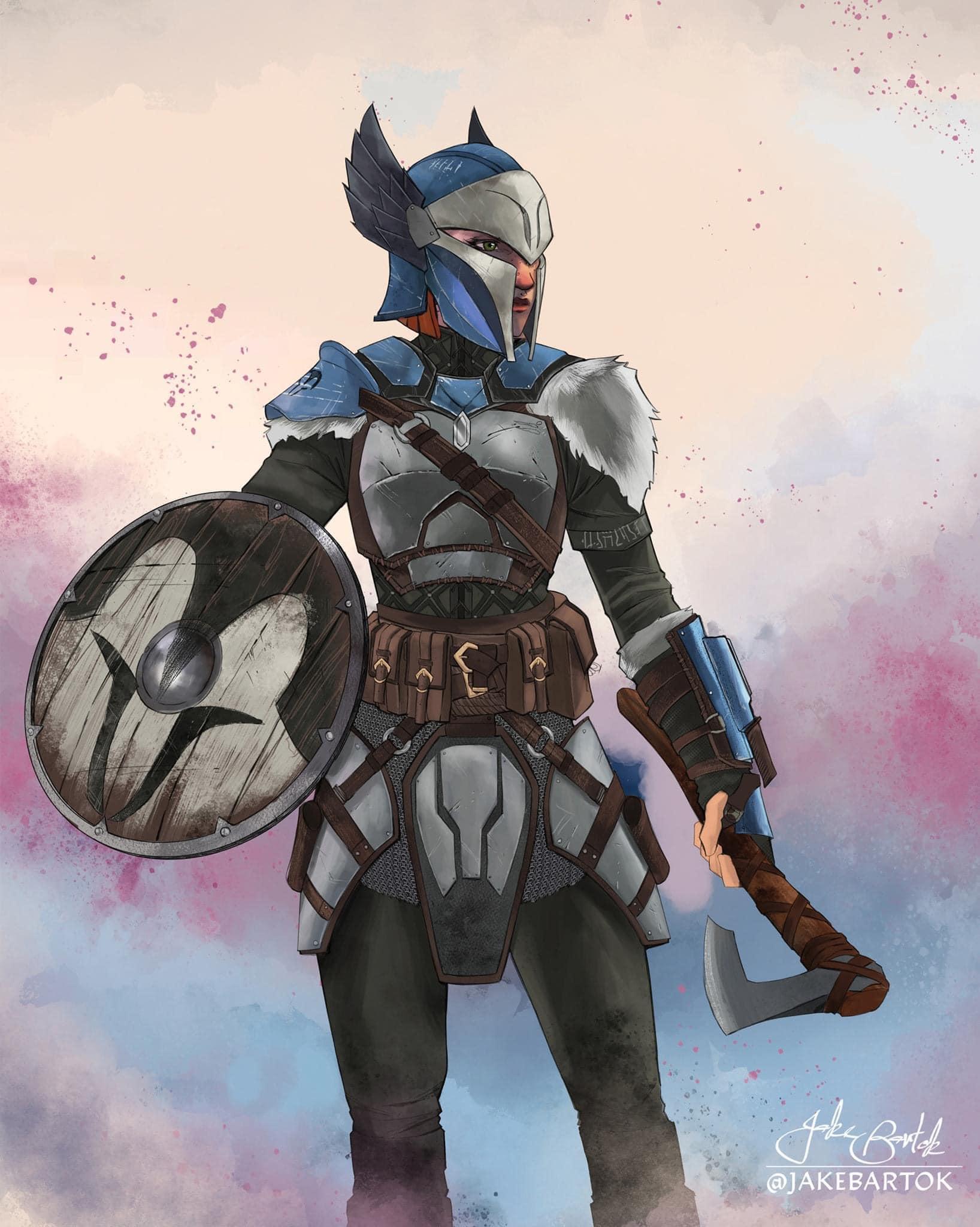 Medieval Fantasy Star Wars Fan Art