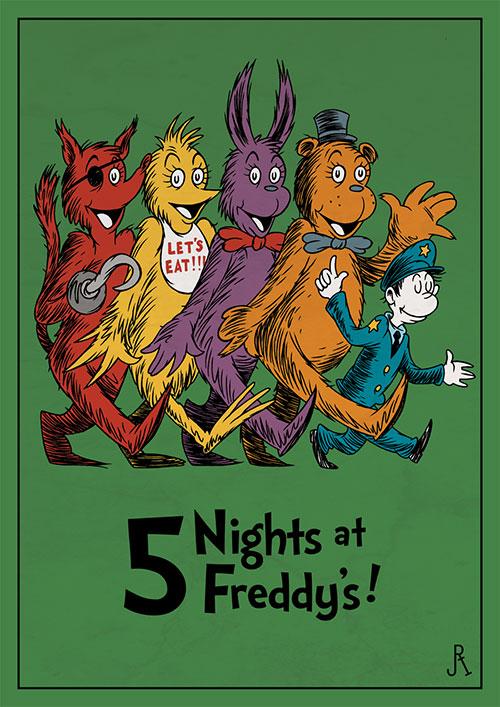 Horror Dr Seuss Fan Art