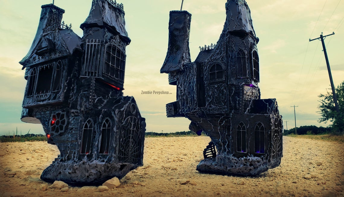 Dark Mausoleum & House Boots