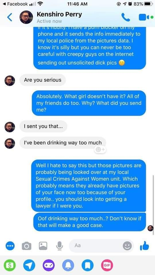 How To Deal With Unsolicited Dick Pics