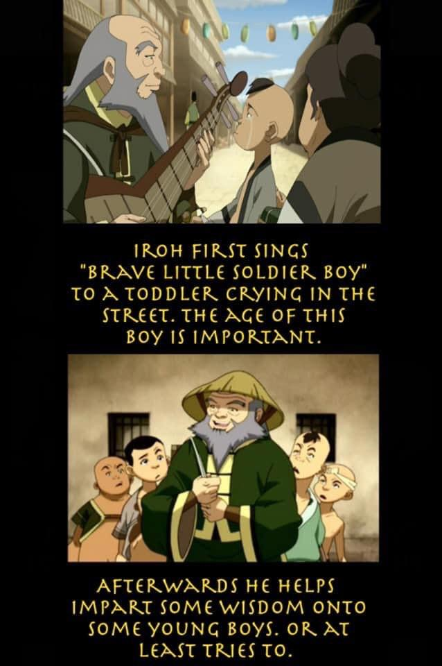 Irohs Story in Avatar: The Last Airbender