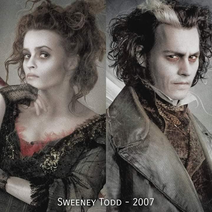 Johnny Depp and Helena Bonham Carter Roles