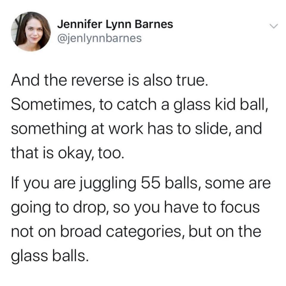 Advice for Juggling Life
