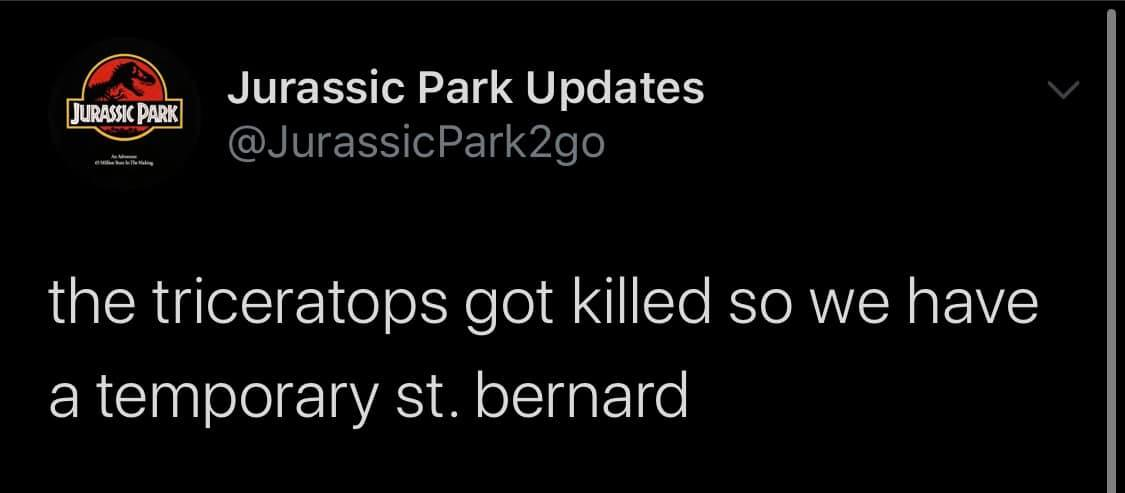 Jurassic Park Updates