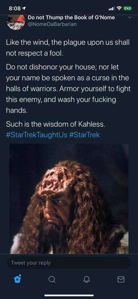 The Klingon Wisdom of Kahless the Unforgettable