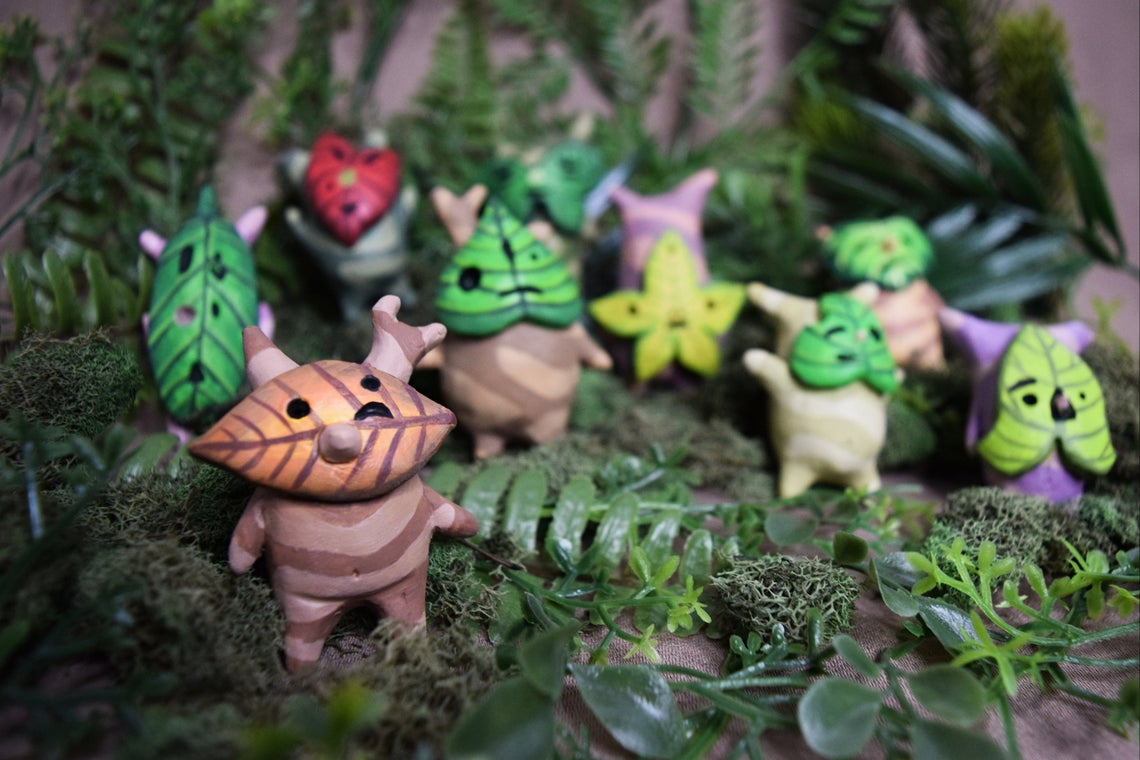 Korok Figurines from The Legend of Zelda