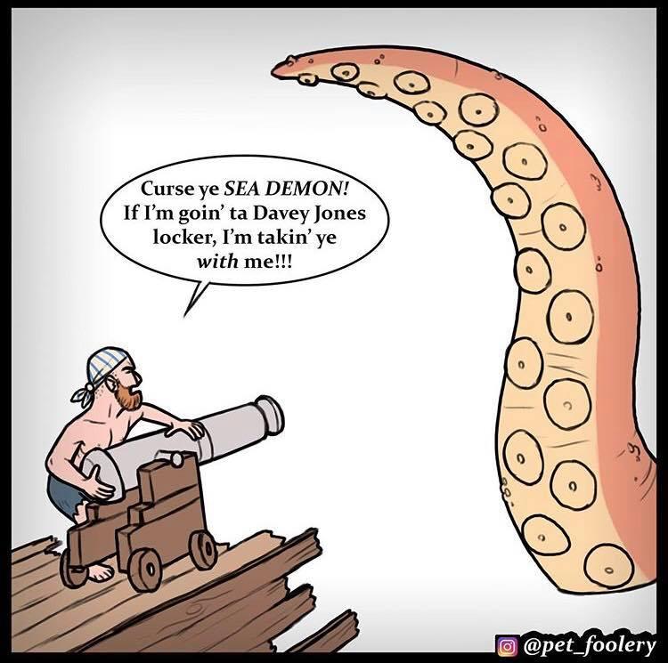 Kraken Comic