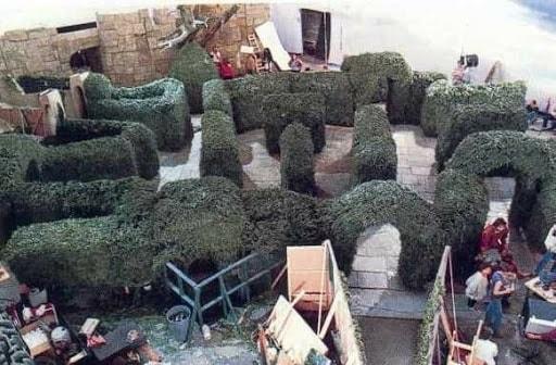 Labyrinth Behind the Scene Photos