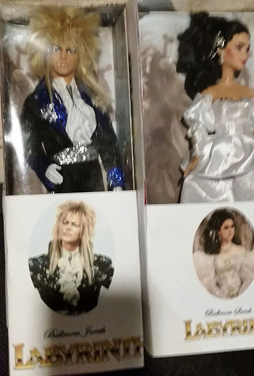 Sarah & Jareth From Labyrinth Dolls Made From Barbies