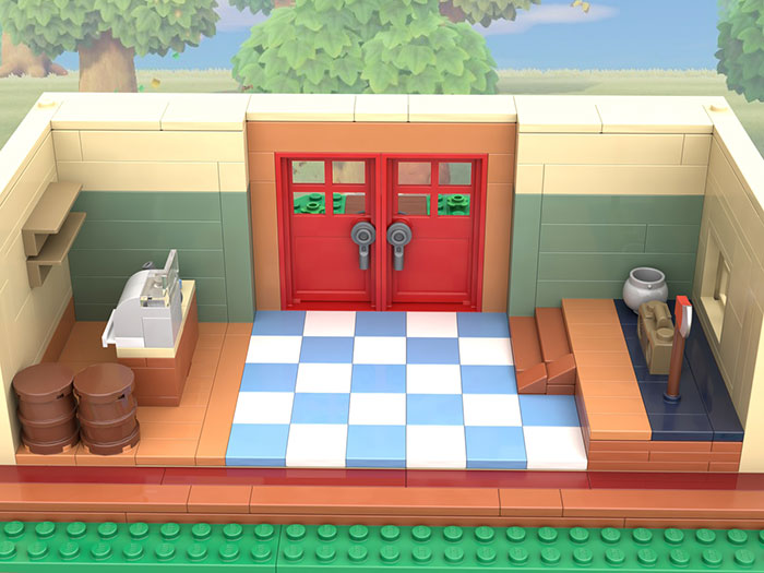 LEGO Nooks Cranny from Animal Crossing