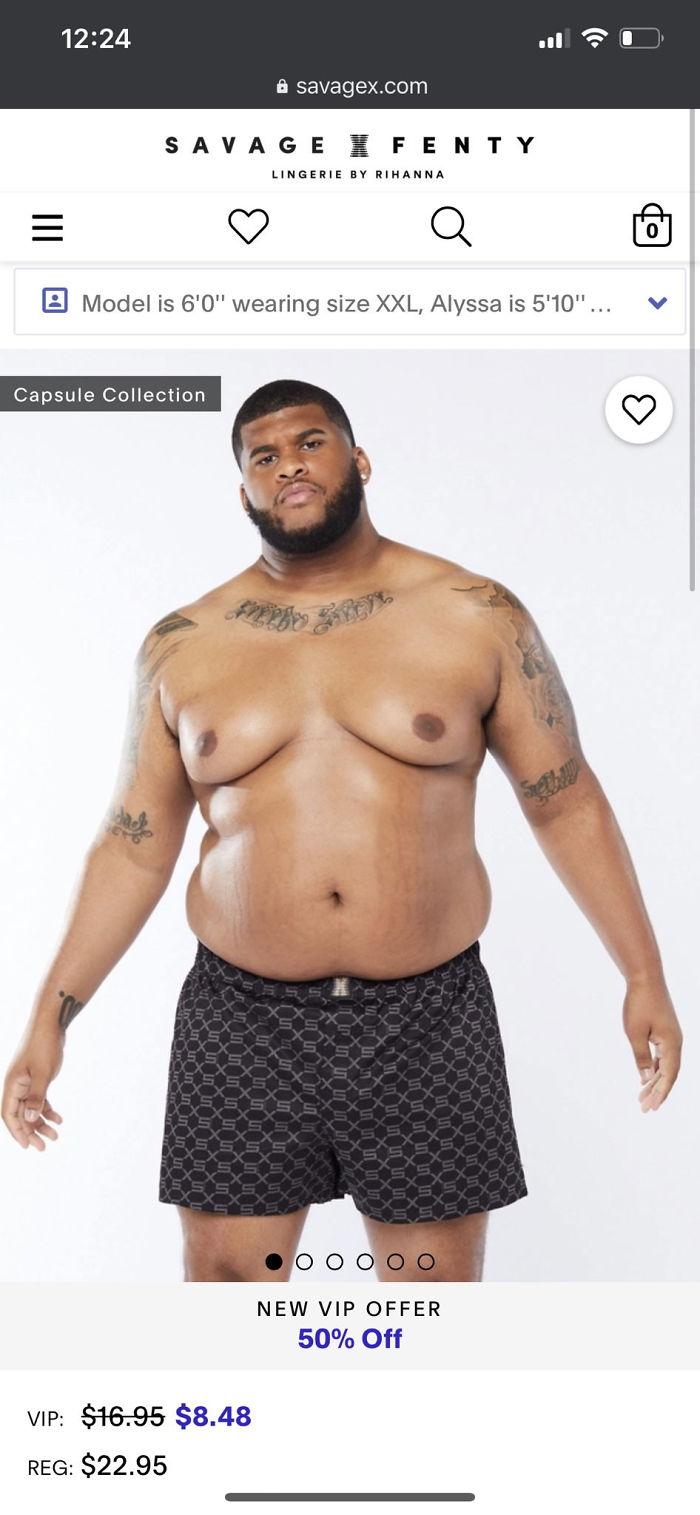 Male Body Positivity Representation
