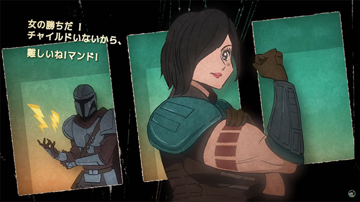 If The Mandalorian Was Anime