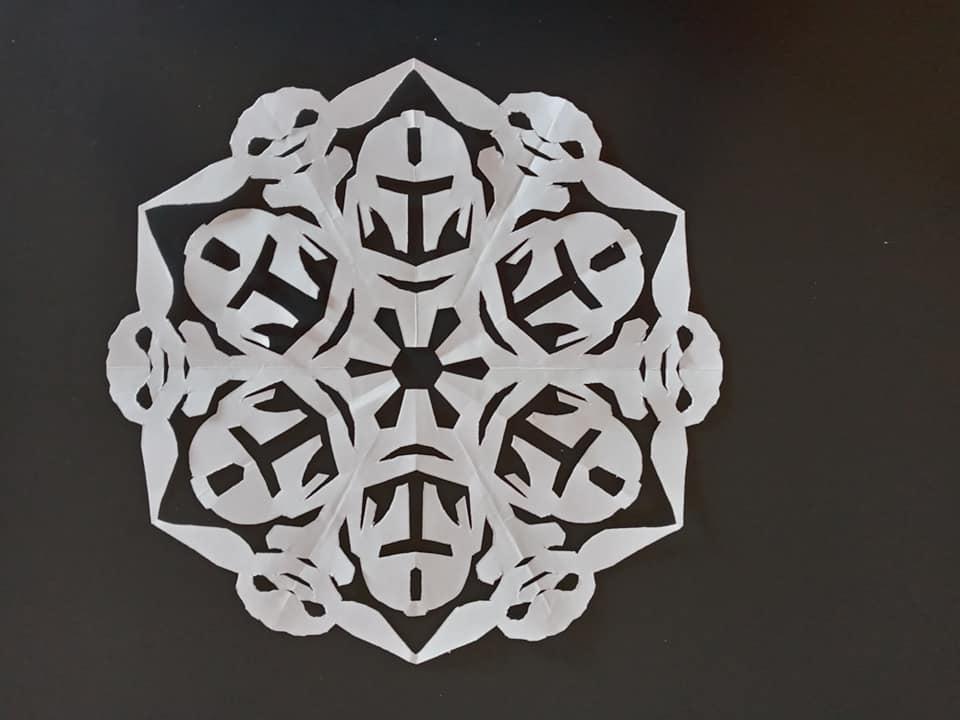 The Mandalorian Snowflake