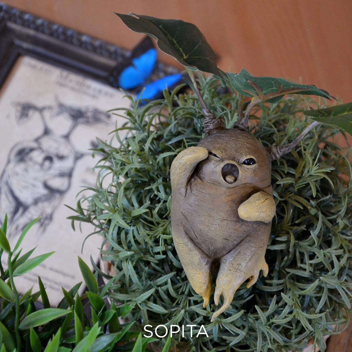 Handmade Mandrake from Harry Potter