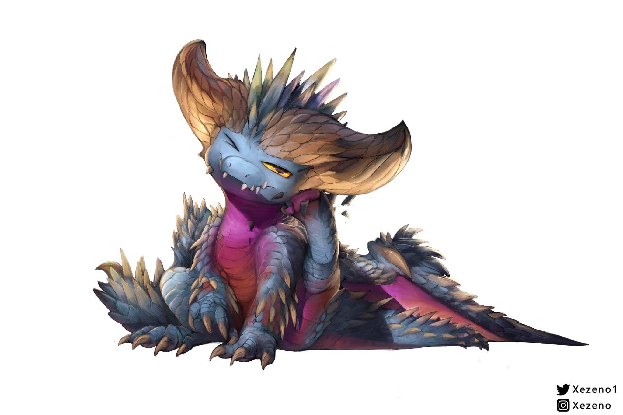 Monster Hunter Fan Art