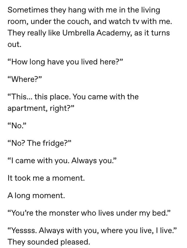 The Monster Under Your Fridge
