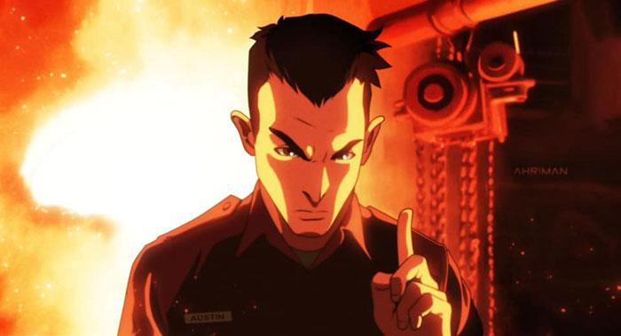Iconic Movie Scenes as Anime