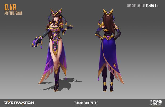 Overwatch Fan Concept Art
