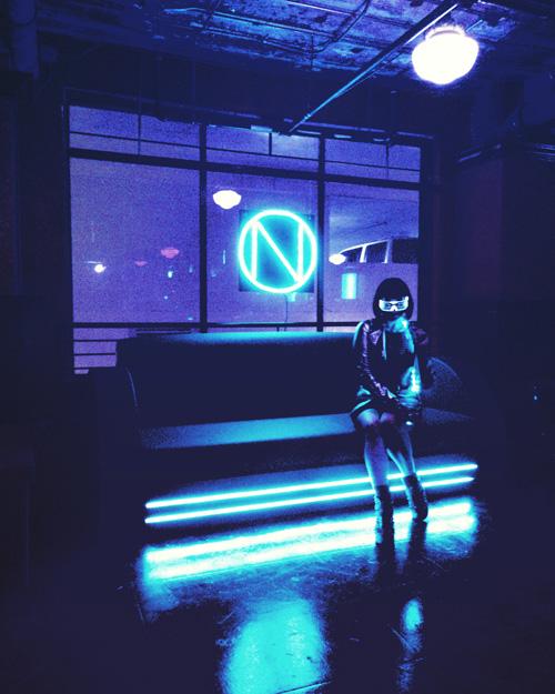 Cyberpunk Pop-Up Bar Open in LA