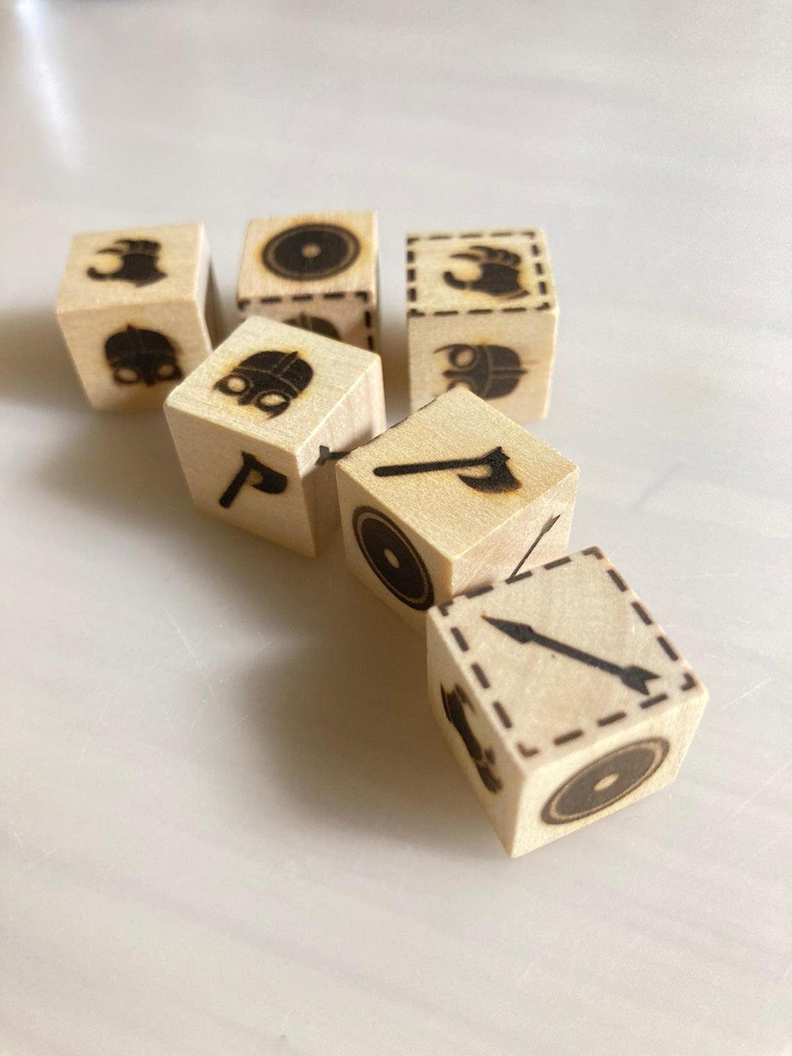 Assassins Creed Valhalla Orlog Dice Set